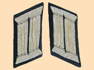 east german collar tabs