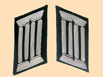 Military Collar Tab & Shoulder Board Identification Gallery
