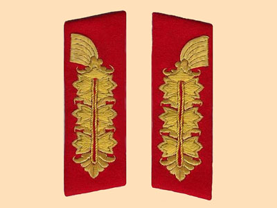 Military Collar Tab & Shoulder Board Identification Gallery