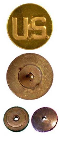 wwii collar disc identification